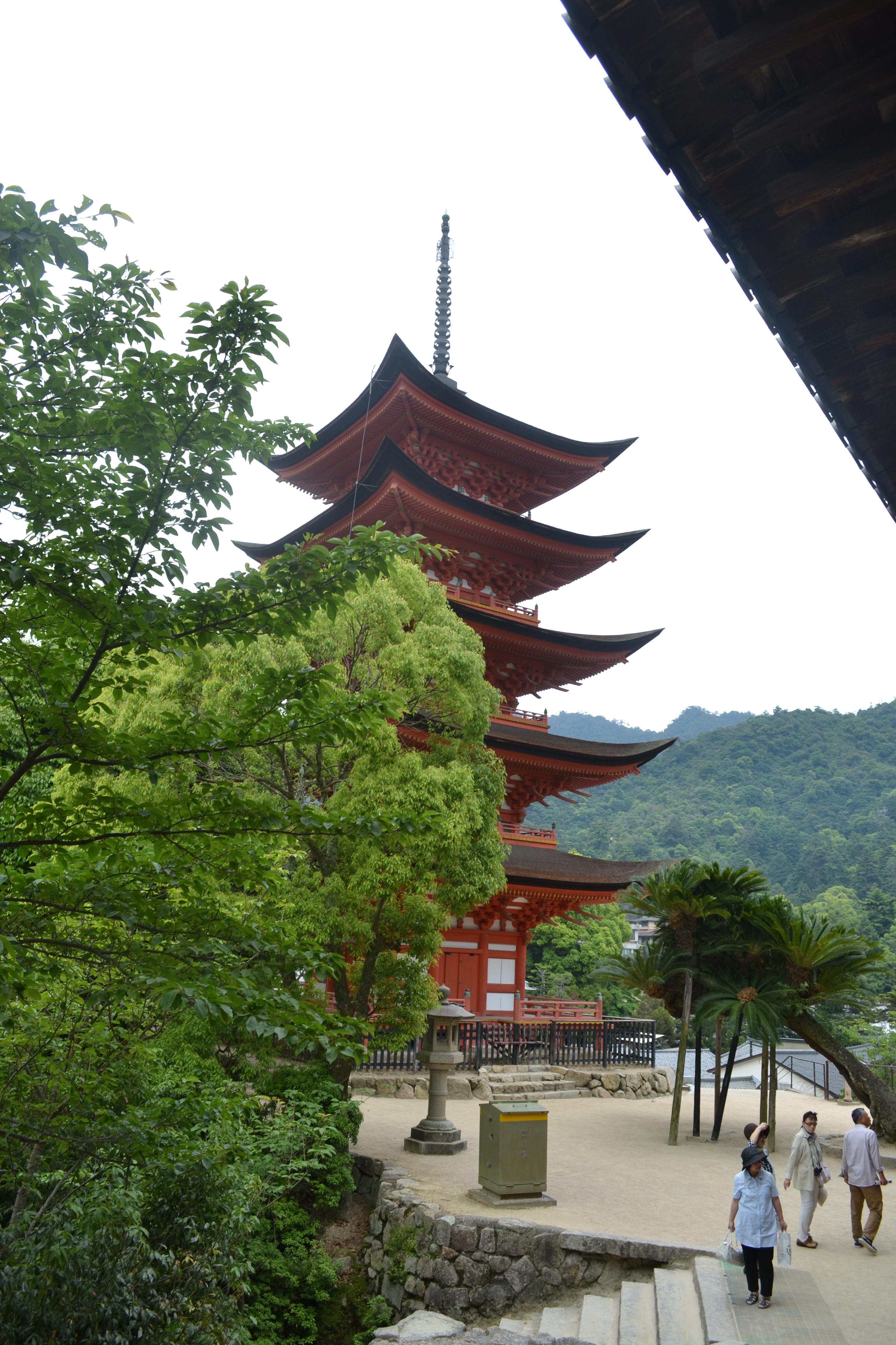 5 Katlı Pagoda